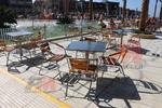Алуминиеви маси за басейни на открито в