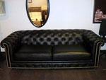 Черно диванче по поръчка