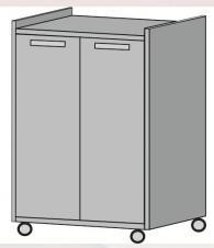 Шкаф за техника с размери 60/50/84см