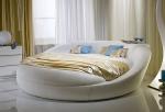 вносители Кожено кръгло легло